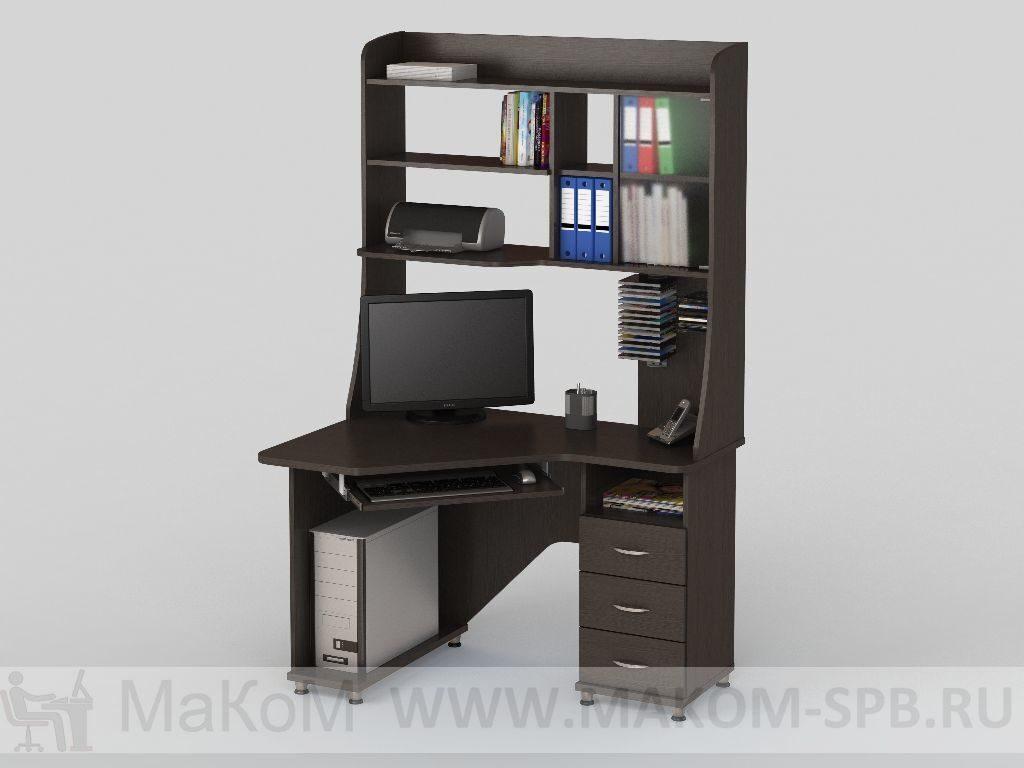 Столы - компьютерные - компьютерный стол кс 2029 - васко меб.