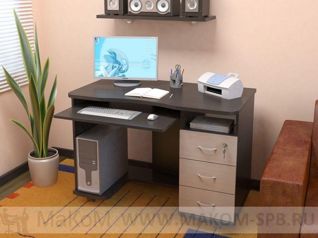 Прямой компьютерный стол кс 20-40 - прямой компьютерный стол.