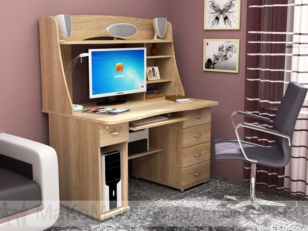 Прямой компьютерный стол кс 20-08 - прямой компьютерный стол.