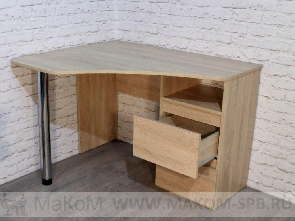 Угловой письменный стол рино 207, купить угловой стол недоро.