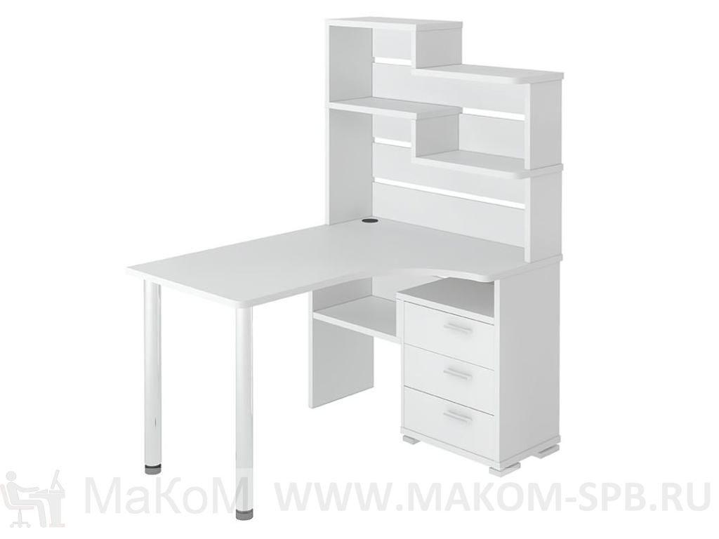Угловой компьютерный стол менфил-2 ср-132 мэрдэс купить в мо.