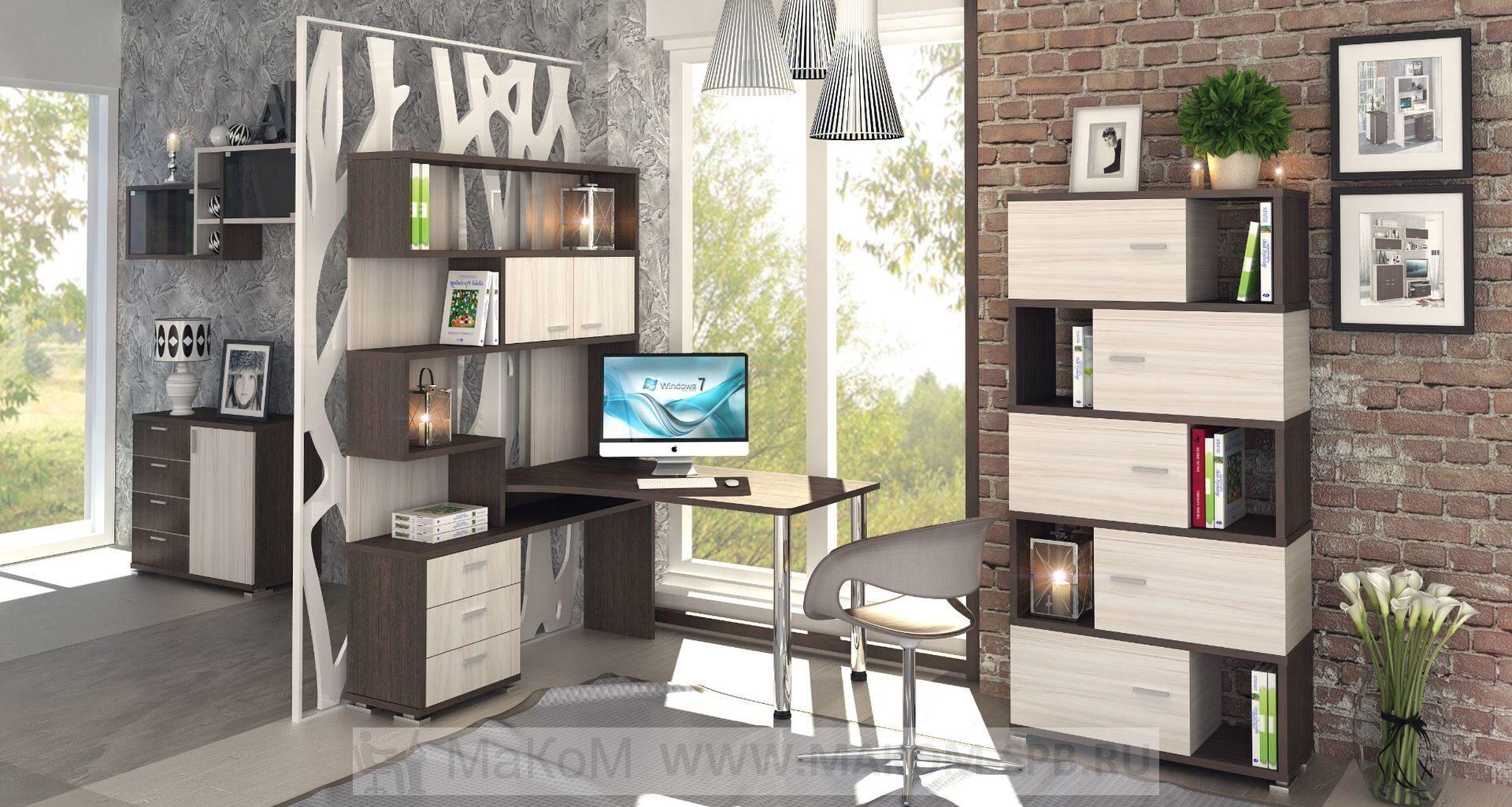 угловой компьютерный стол ср 420 в интерьере компьютерные столы
